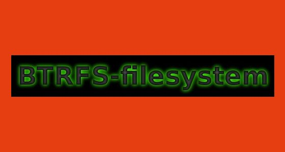 btrfs-filesystem-linux