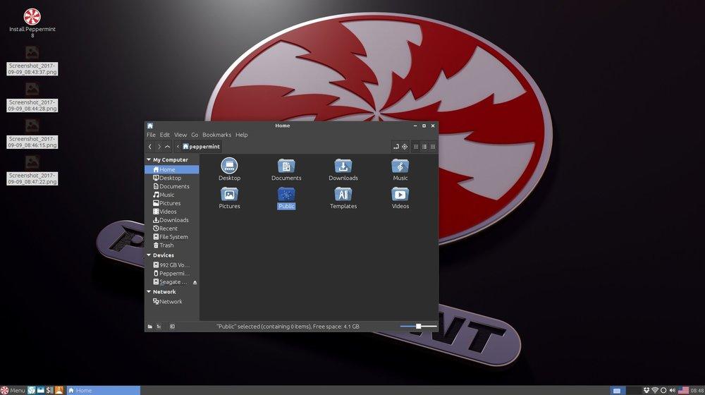 Peppermin-Linux-OS