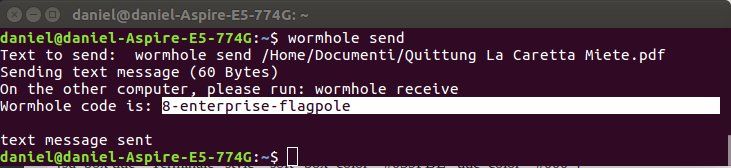 wormhole-spedire-file