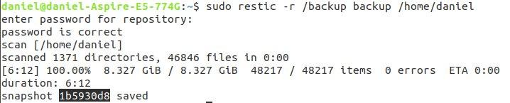 Restic-BackUP-ubuntu-18-04