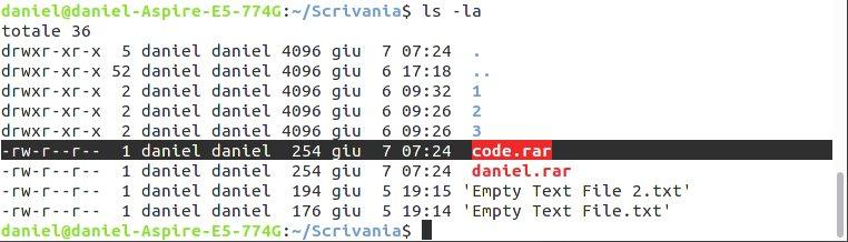Archivi RAR su Linux   Linuxiano it